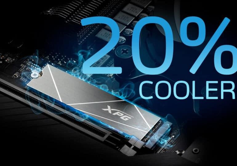 AZ XPG BEMUTATTA A GAMMIX S50 LITE PCIE GEN4 M.2 2280 SSD MEGHAJTÓT