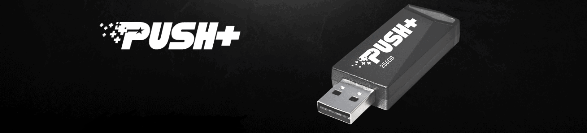 A PATRIOT™ BEMUTATTA A PUSH+ USB FLASH MEGHAJTÓT