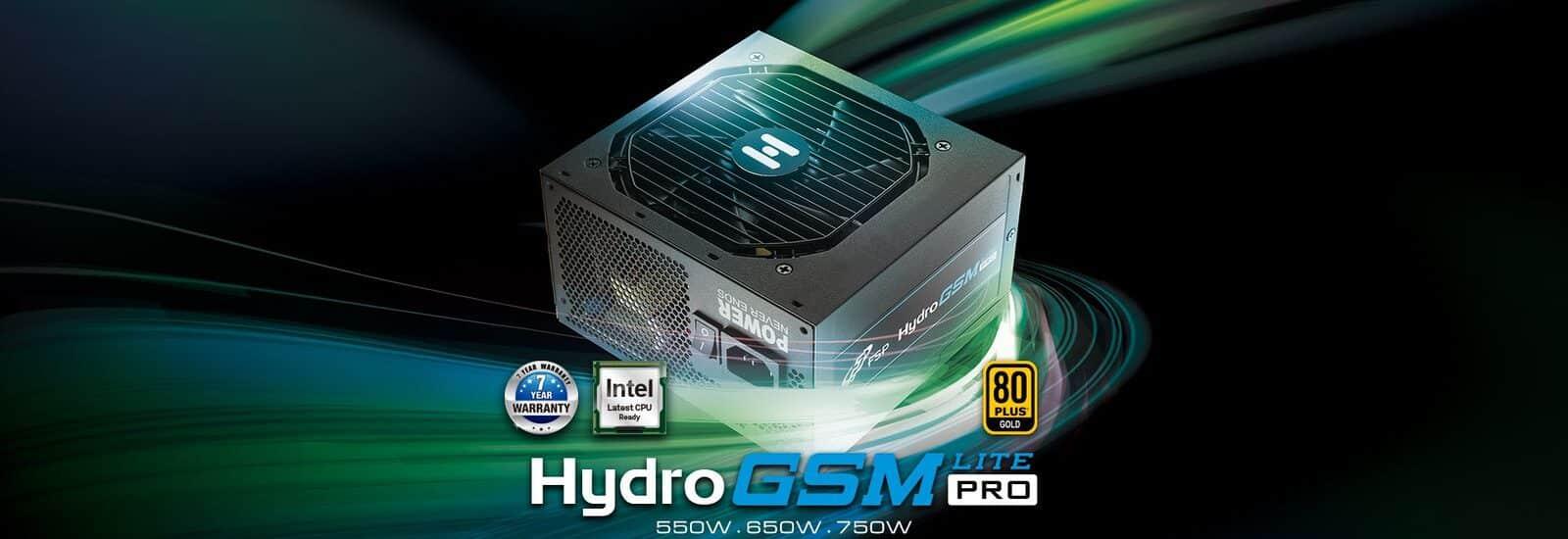 Az FSP bemutatta a legújabb Hydro GSM Lite Pro tápegységsorozatát