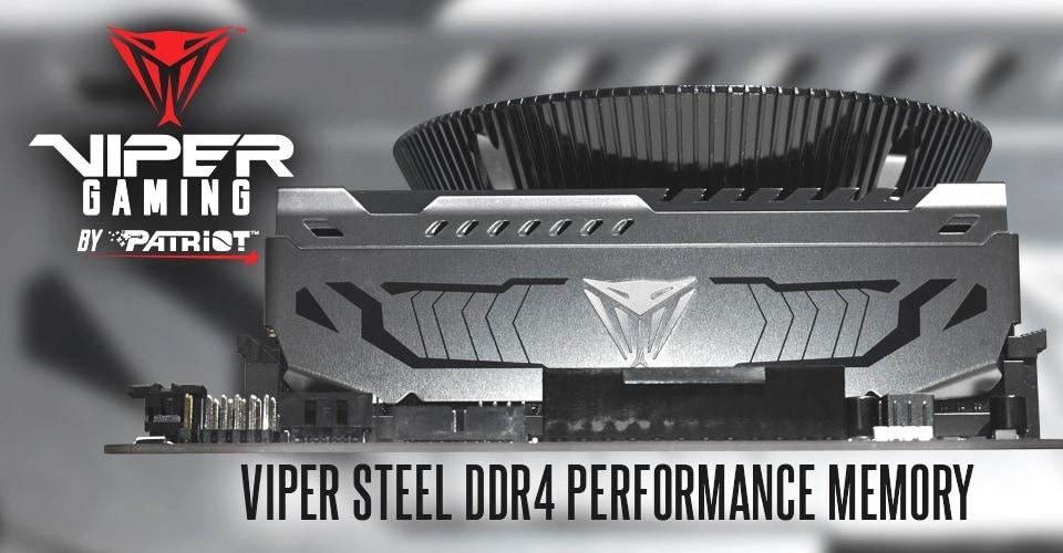 Újabb kitüntetést kaptak a Patriot Viper Steel memóriamodulok