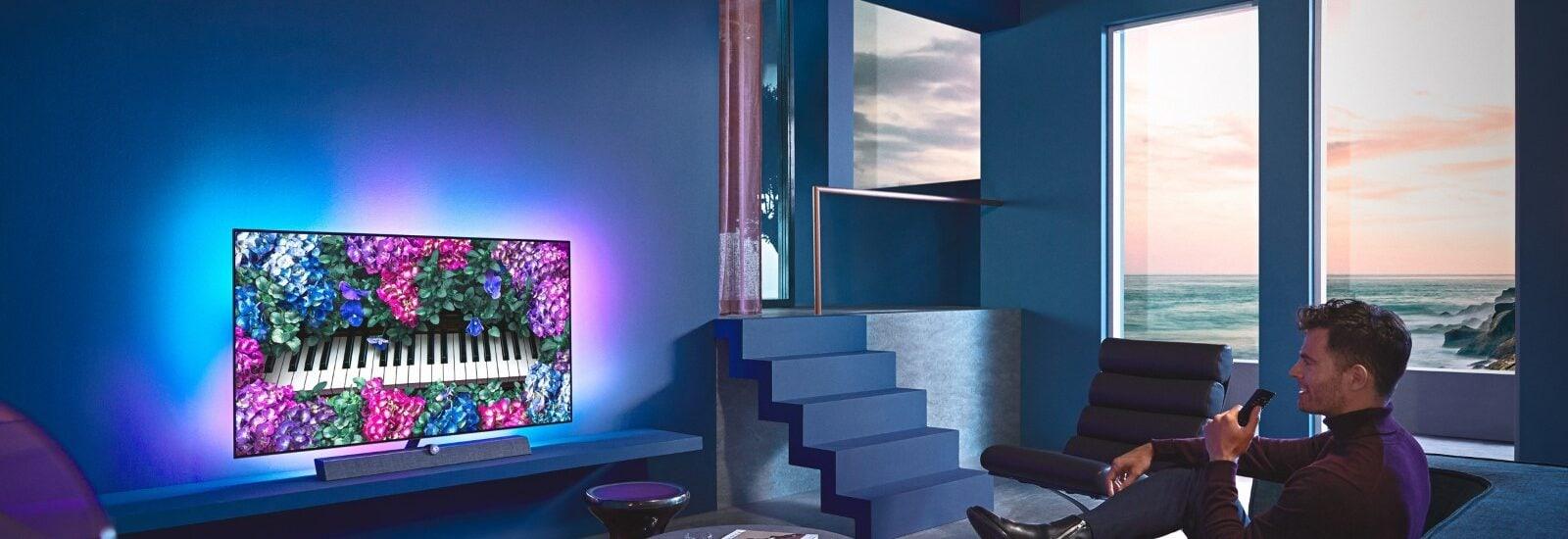Philips OLED+ 935 – a televíziózás új dimenziója