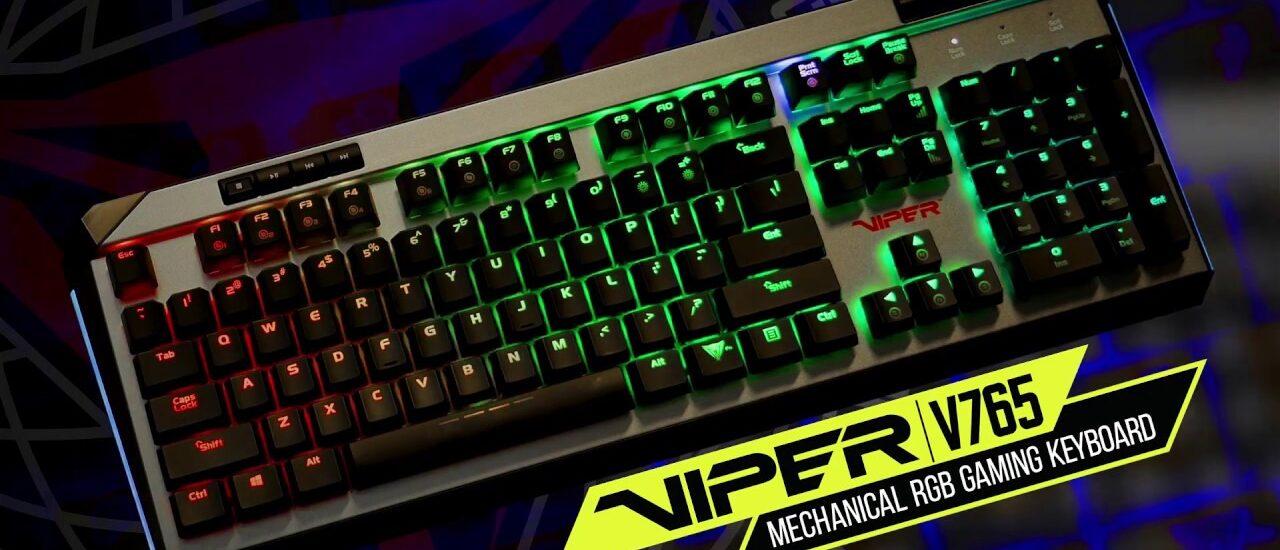 Patriot Viper billentyűzet Kailh Box mechanikus kapcsolókkal