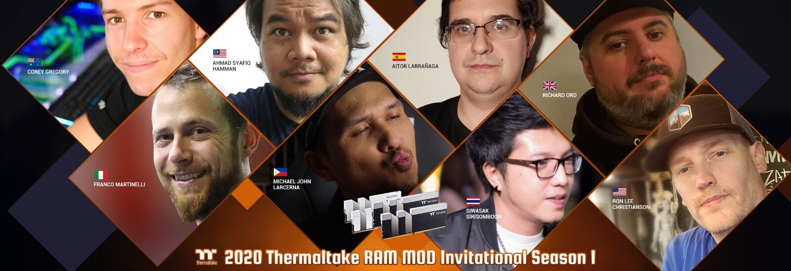 2020-as Thermaltake RAM MOD Invitational verseny 1. évad