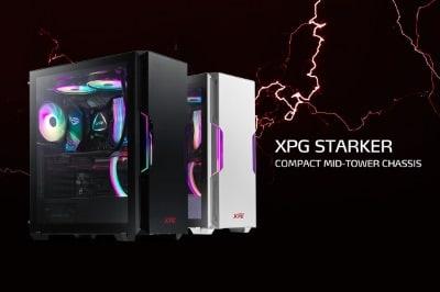 Az XPG bemutatta a kompakt kialakítású STARKER közepes méretű toronyházat