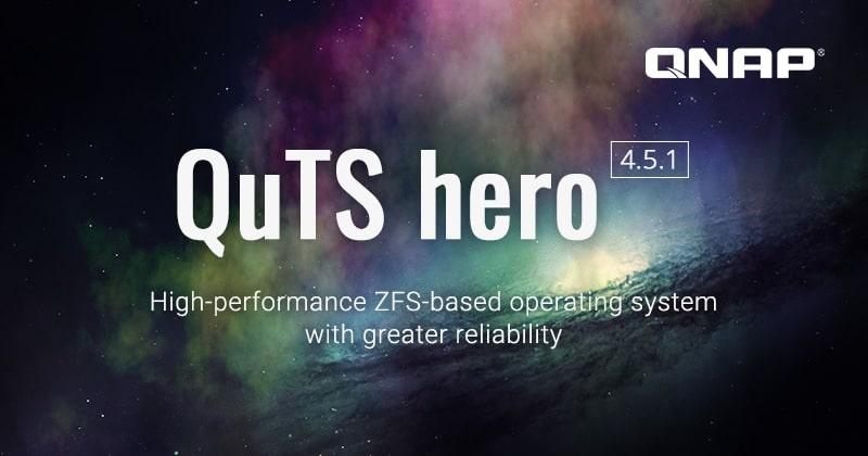 A QNAP frissítette a ZFS-alapú QuTS hero operációs rendszert