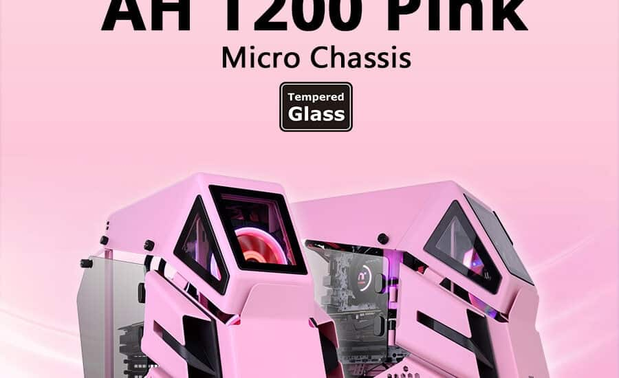 A Thermaltake AH T200 kis méretű toronyház mostantól rózsaszínben is elérhető
