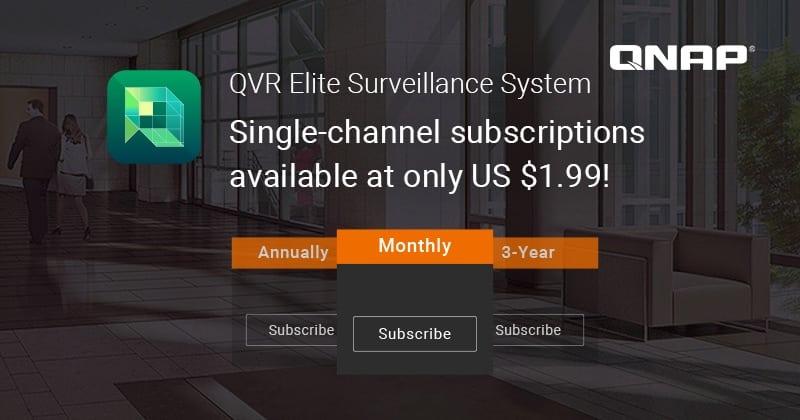 Megjelent a QVR Elite, a QNAP előfizetéses felügyeleti megoldása, amely már 1,99 USD havidíjtól elérhető