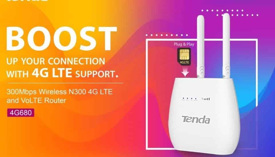 Tenda 4G LTE routerek – Internet bárhol, bármikor!