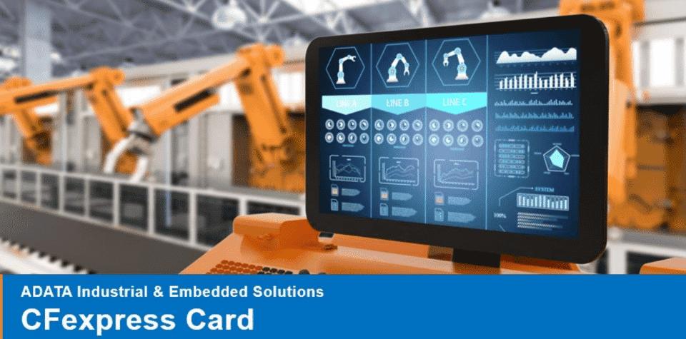 Az ADATA bemutatta az ICFP301, ipari szintű CFexpress memóriakártyáit
