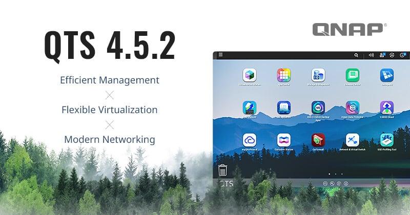 Megjelent a QTS 4.5.2 rendszerfrissítés, valamint a QNAP bemutatta a 100 GbE hálózati adaptert