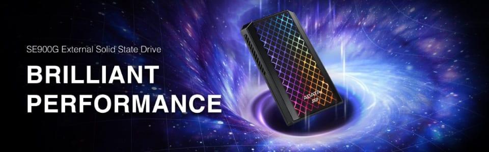 Megjelent az ADATA SE900G RGB külső SSD
