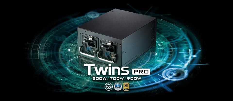 Az FSP bemutatta az 500/700/900 W-os Twins Pro tápegységeit