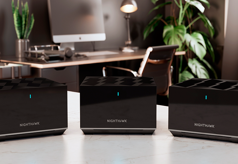A NETGEAR bemutatta az új Nighthawk mesh WiFi 6 tri-band hálózati rendszert