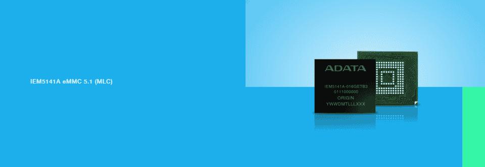 Az ADATA bemutatta az ipari szintű IEM5141A beágyazott multimédia kártyát