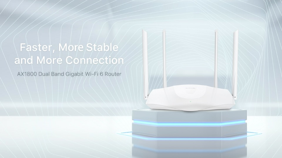 A Tenda bemutatta a költséghatékony RX3/TX3 WiFi 6 routereket