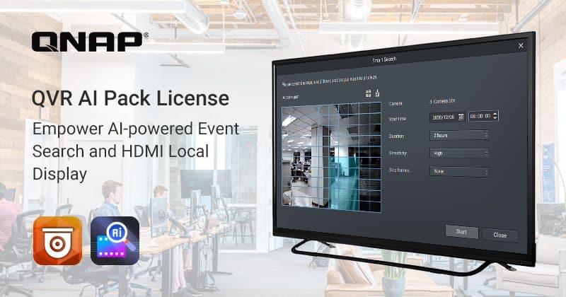 Megjelent a QNAP QVR AI Pack licenc