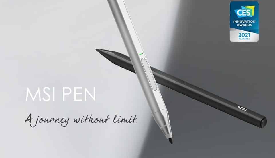 MSI Pen – egy intuitív kiegészítő a legújabb Summit Flip sorozathoz