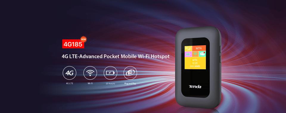 Költséghatékony 4G WiFi hotspot-ok a Tendától - 4G180 és 4G185