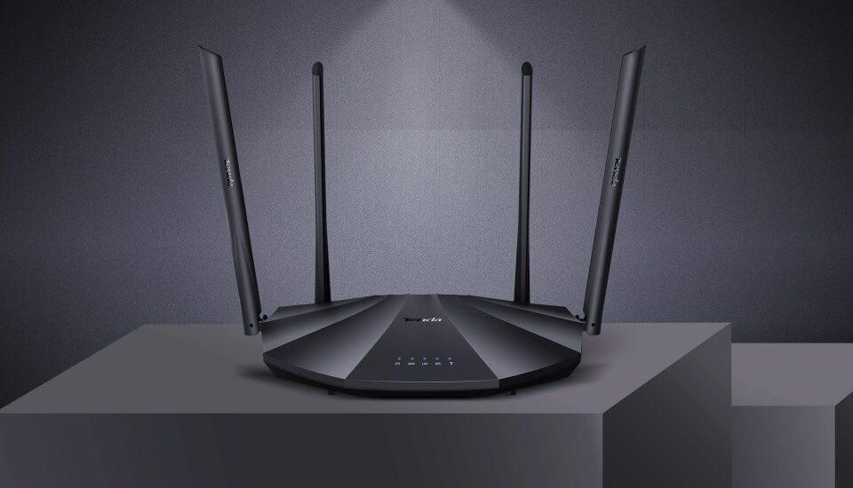 Nagy sebességű, költséghatékony vezeték nélküli router a Tendától