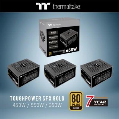 Megjelentek az új Thermaltake Toughpower SFX 450W/550W/650W Gold tápegységek