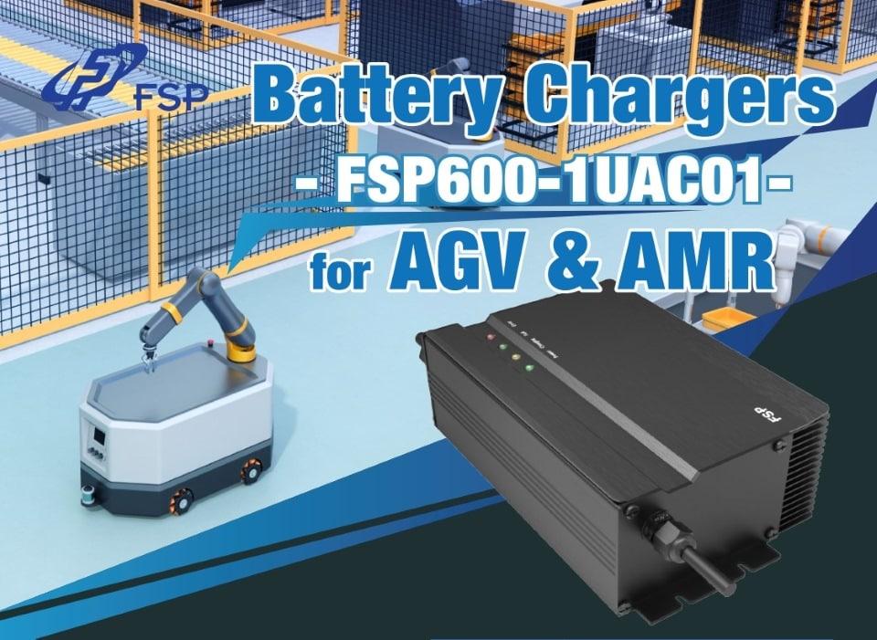 Az FSP bemutatta az AGV és az AMR akkumulátortöltőit