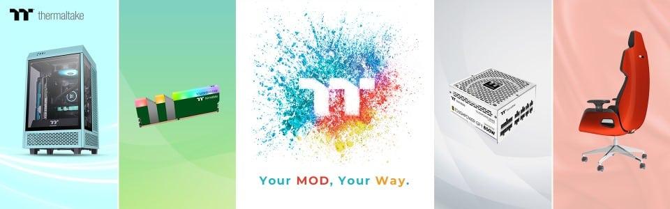 2021 Thermaltake EXPO June: Ismerd meg a Thermaltake legújabb termékeinek bővített színválasztékát