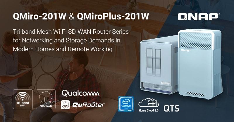 A QNAP bemutatta a QMiro-201W és a QMiroPlus-201W készülékeket