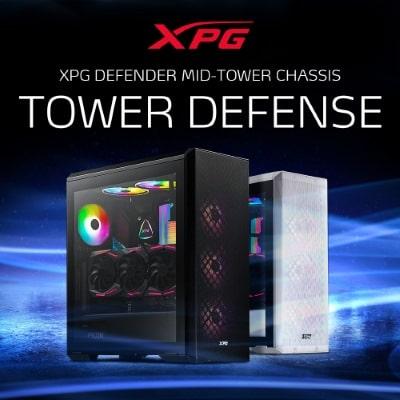 Megjelentek az XPG legújabb, kiváló szellőzéssel rendelkező gépházai