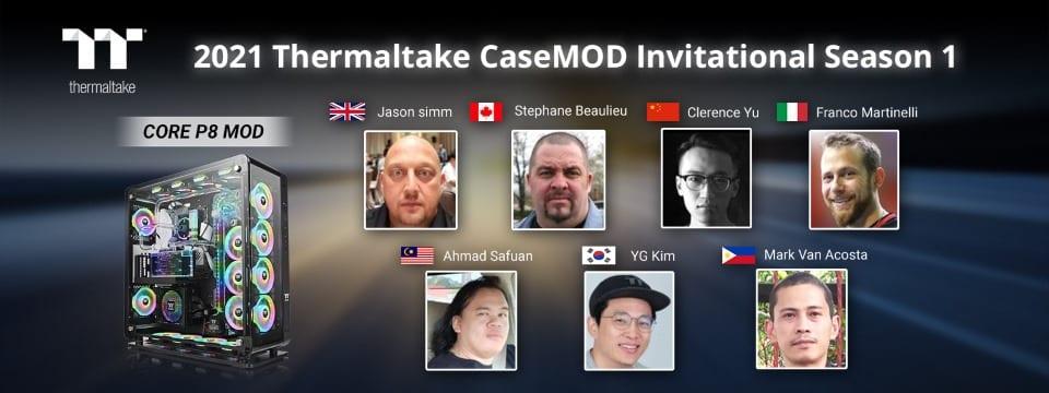 Kezdetét vette a 2021 Thermaltake CaseMOD Invitational 1. évada