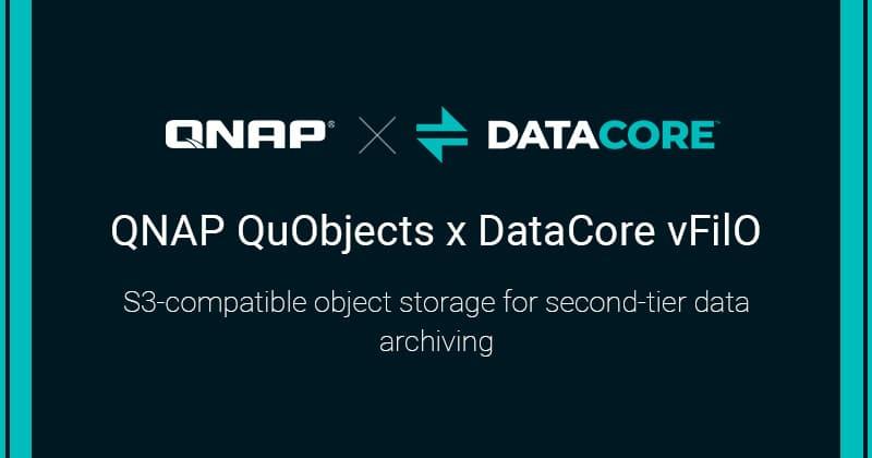 Együttműködési megállapodást kötött a QNAP és a DataCore