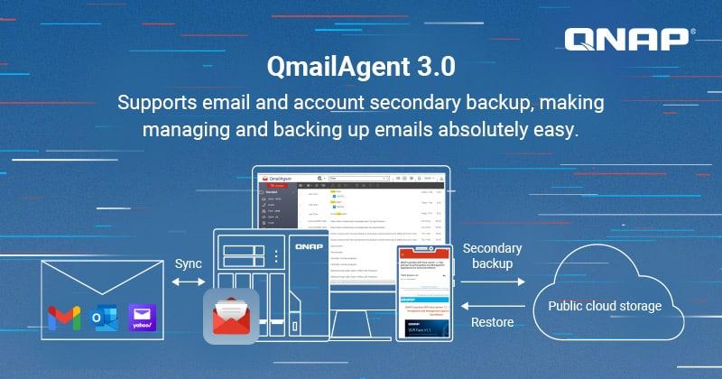 Megjelent a QNAP QmailAgent 3.0 béta változata