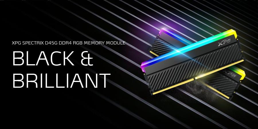 Az XPG bemutatja a SPECTRIX D45G RGB és a GAMMIX D45 DDR4 memóriamodulokat