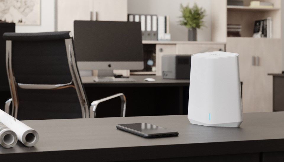 A NETGEAR bemutatta az Orbi Pro Wifi 6 Mini mesh rendszert