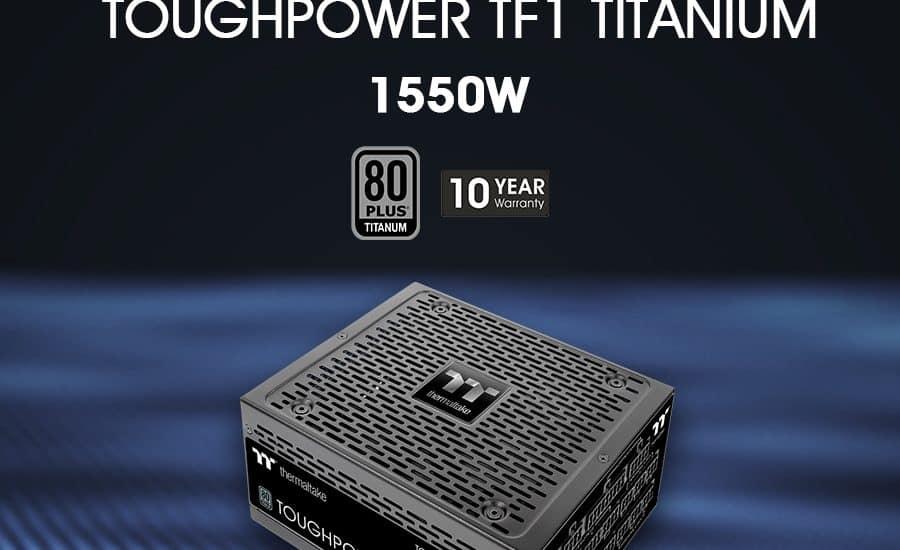 A Thermaltake bejelentette a Toughpower TF1 1550W Titanium - TT Premium Edition tápegység elérhetőségét