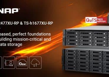 A QNAP 16- és 24-lemezes, nagy kapacitású modellekkel bővíti TS-hx77XU NAS sorozatát