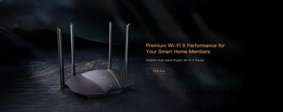 A Tenda bemutatta a nagy sebességű RX9/TX9 Pro prémium WiFi 6 routereket