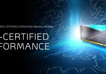 Az XPG bemutatta a SPECTRIX D50 ROG-CERTIFIED DDR4 RGB memóriamodulokat